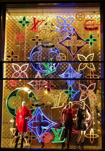 Christmas Louis Vuitton Holiday Window Display