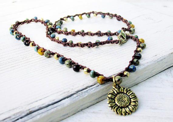 65 besten Crochet Jewelry Bilder auf Pinterest | Schmuck häkeln ...