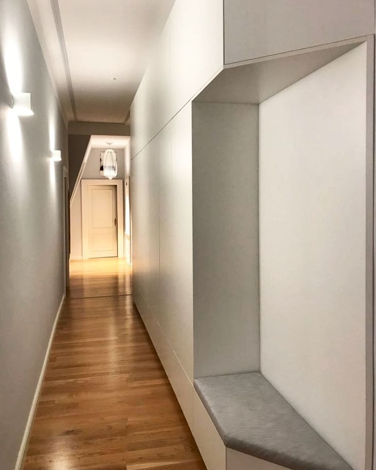 Die besten 25 einbauschrank gang ideen auf pinterest - Wohnung farblich gestalten ...