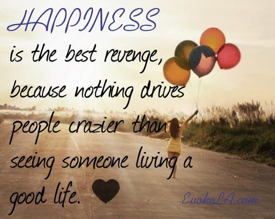 Happiness and Revenge