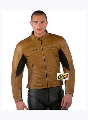 Men's Leather motorcycle jacket & pants
