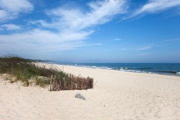 Beach at Baltic Sea in Wladyslawowo, Poland