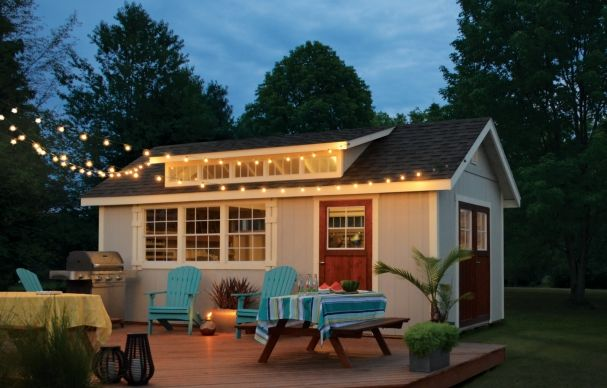 Dreaming of a gorgeous guest house? A zen yoga den? A drool-worthy workshop? Here are a few ways to turn an ordinary shed into an outdoor oasis!