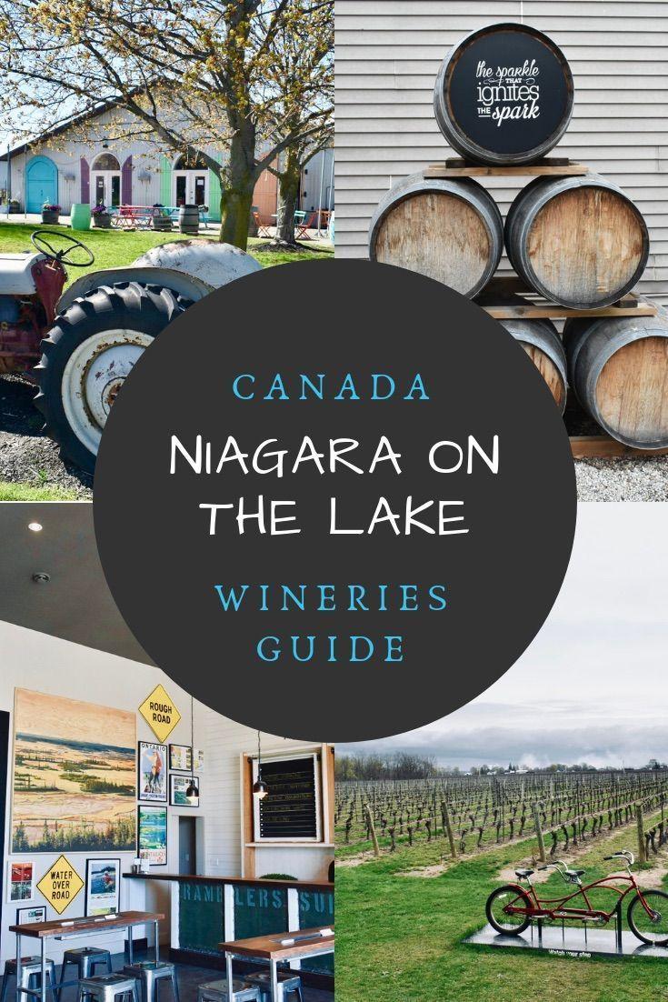 Niagara Falls Canada Wineries Map Niagara on the Lake Wineries: 20 awesome Niagara wineries