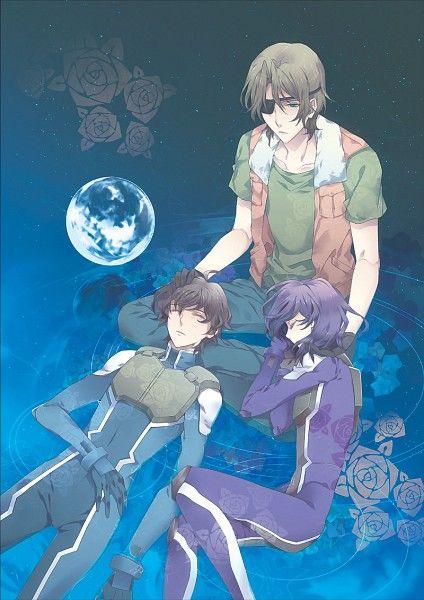 Tags: Anime, Mobile Suit Gundam 00, Setsuna F. Seiei, Tieria Erde, Lockon Stratos