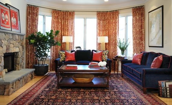 How To Decorate Your Room With Transitional Rugs Rugs In Living Room Oriental Rug Living Room Blue Living Room