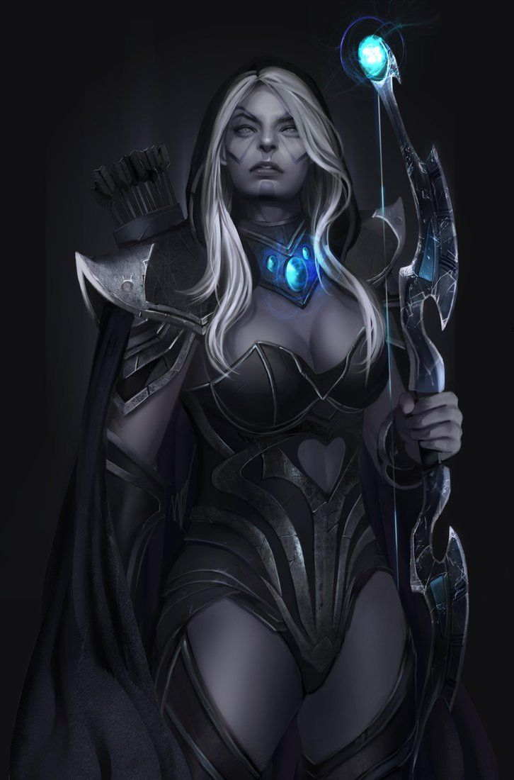 drow ranger dota 2 by unrealsmoker on deviantart anime gaming