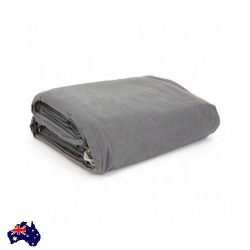 Heavy Duty  Canvas Tarp Tarpaulin Large Cover Protection Truck Trailer Outdoor