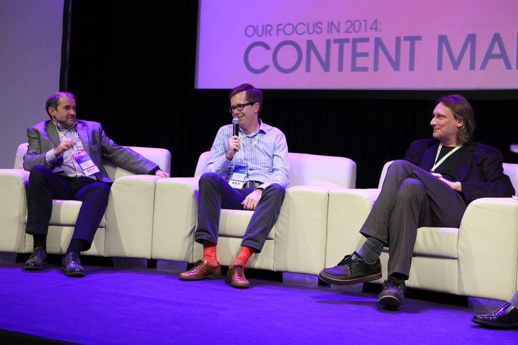 "Mariusz Stecki (TVP), Martin Simka  (Evio), Michał Przymusiński (Crowley Media) Discussion panel ""Future of online TV"""