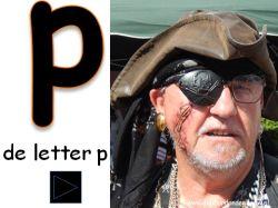Digibordles Letter P van piraat op digibordonderbouw.nl http://digibordonderbouw.nl/index.php/themas/piraten/piraten/viewcategory/366