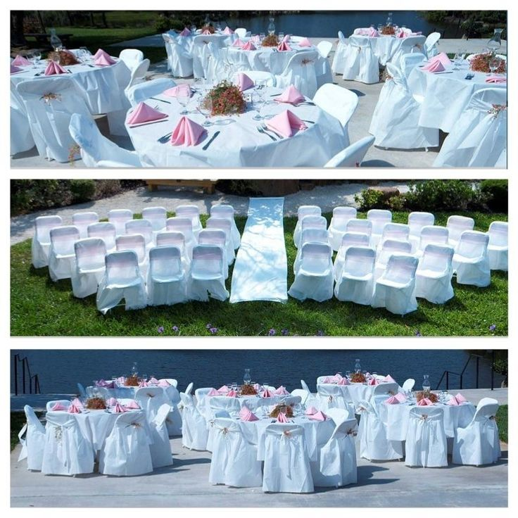 96 x BLACK Linen Like BANQUET CHAIR COVERS Wholesale Wedding Party Decorations