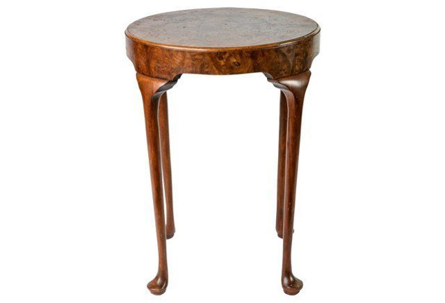Burl wood baker furniture side table furniture i would for Affordable furniture in baker