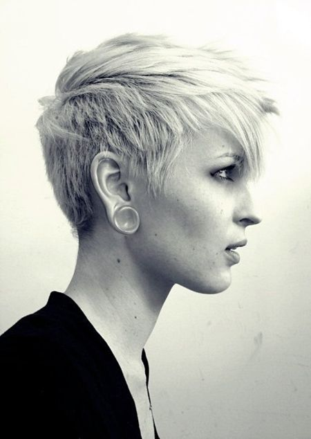 Hair blog dedicated to short hair and the girls who love it.