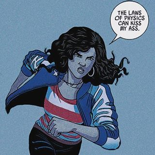 America Chavez (Miss America) | 17 Badass POC Comic Book Characters You Really Need To Know About