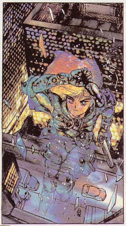 Ghost in the shell, by Masamune Shirow