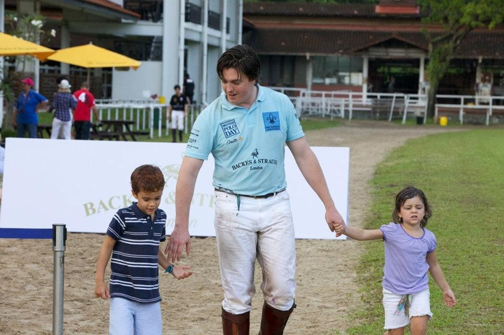 A British champion proud to share his prestigious heritage to the next generation - Discover more on www.backesandstrauss.com