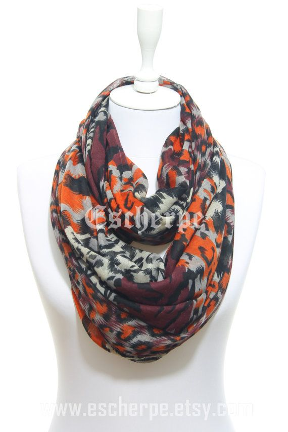 Leopard Animal Printed Orange Burgundy Scarf Winter by #escherpe #scarves #scarf #shawl #shawls #wrap #wraps #tartan #plaid #check #summer #trend #spring #women #fashion #accessories #holidays #holiday #christmas #gift #gifts #outfit #accessorize #style #stylish #love #TagsForLikes #me #cute #photooftheday #nails #hair #beauty #beautiful #instagood #instafashion #pretty #girly #pink #model #dress #skirt #shoes #heels #ivory #shopping #trend #trending #winter #camo #blanket