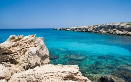 Sparkling turquoise waters - Cyprus