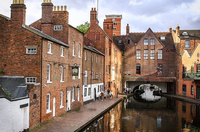Brindleyplace, Birmingham, England