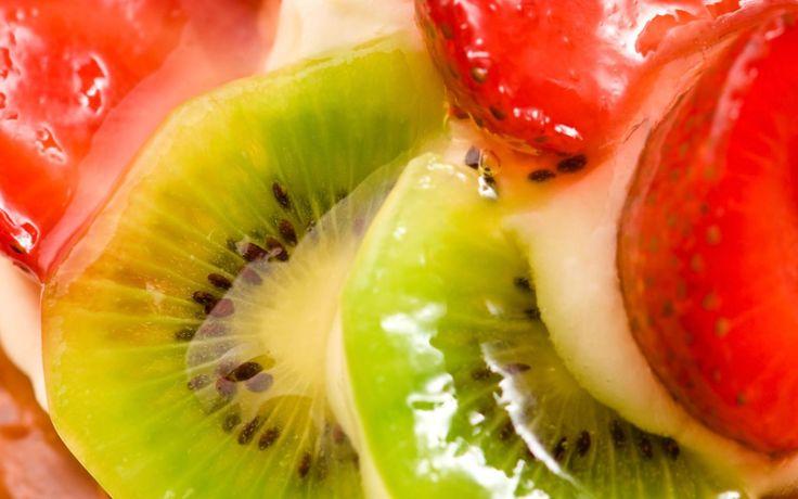 Tarte aux Fruits aux baies de Goji tiré du livre Entre fourchette et baguettes