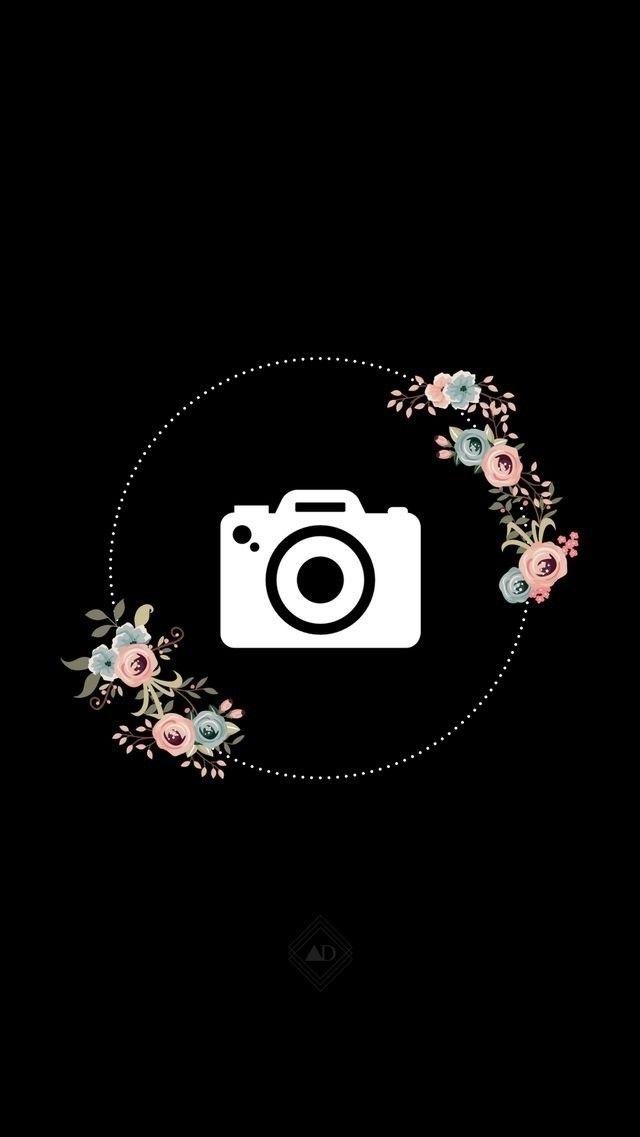 Картинки для актуального в инстаграм на черном фоне