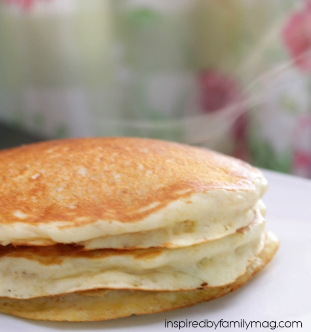 how to make fluffy pancakes easy