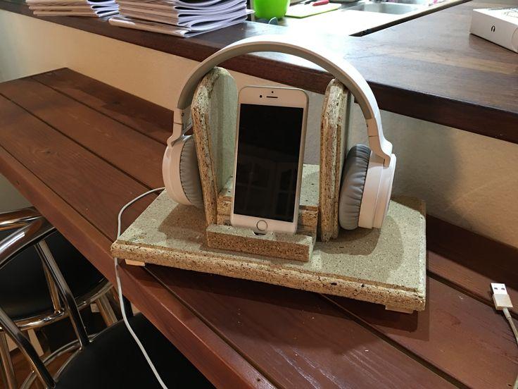 Headphones/mobile holder  Bostrup Møbler Alslev, Varde