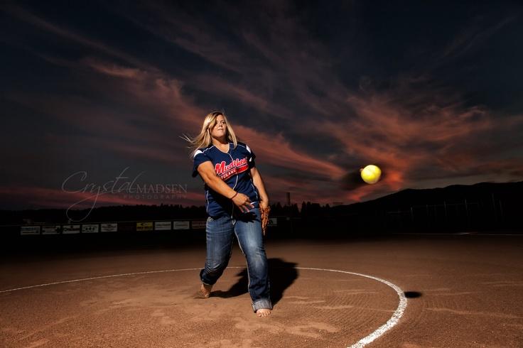 Softball senior photos  Senior photo ideas for girls  Awesome senior pics