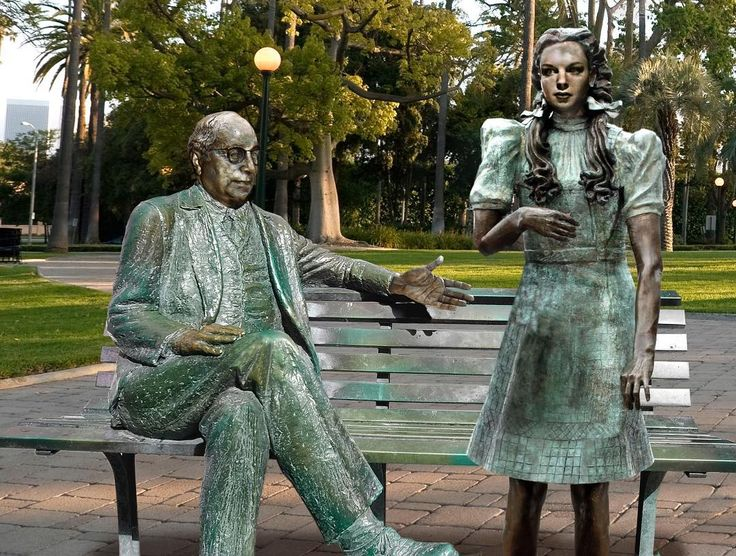 Hollywood Removes Statue Of Louis B. Mayer Beckoning Judy Garland To Sit On His Lap
