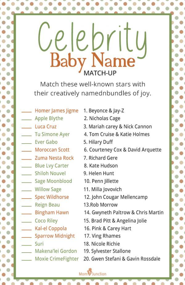 21 Printable Baby Shower Word Scrambles - thespruce.com