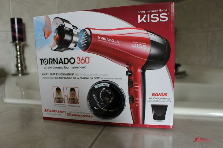 Loving My KISS Tornado 360° 1875W Ionic Dryer ~ Review and Giveaway : Ottawa Mommy Club – Moms and Kids Online Magazine