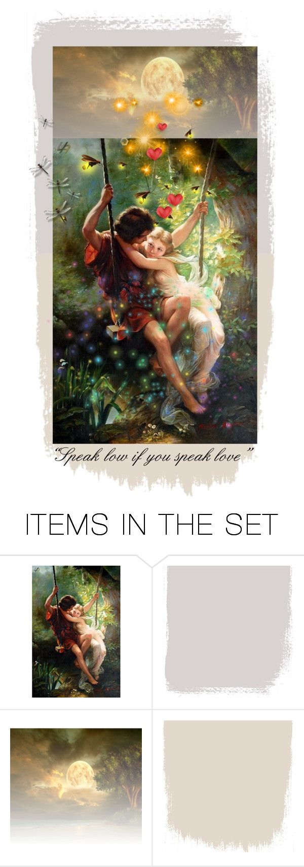 """""""""""Speak low if you speak love"""""""" by artsdesireable ❤ liked on Polyvore featuring art and Alkemia"""
