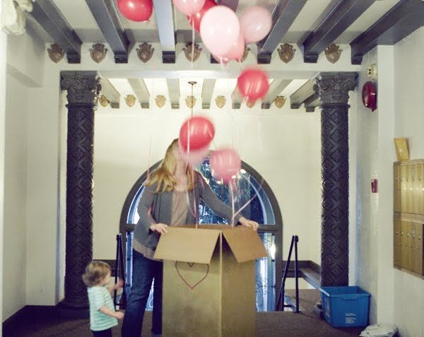balloon-party - did this for Logan's 2nd bday..he loved it!