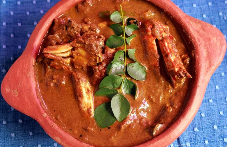 Spicy Chettinad Crab Curry