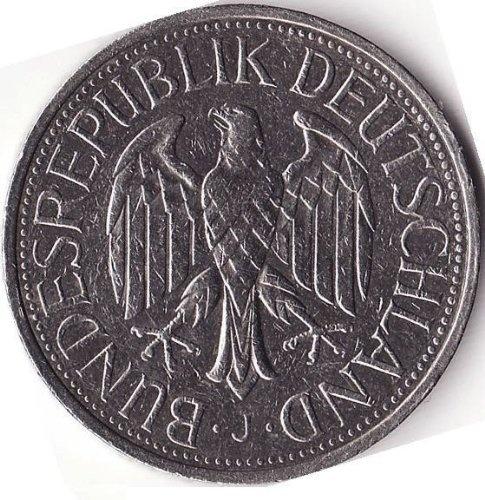 1982 Germany 1 Deutsche Mark D Coin Europe Coins
