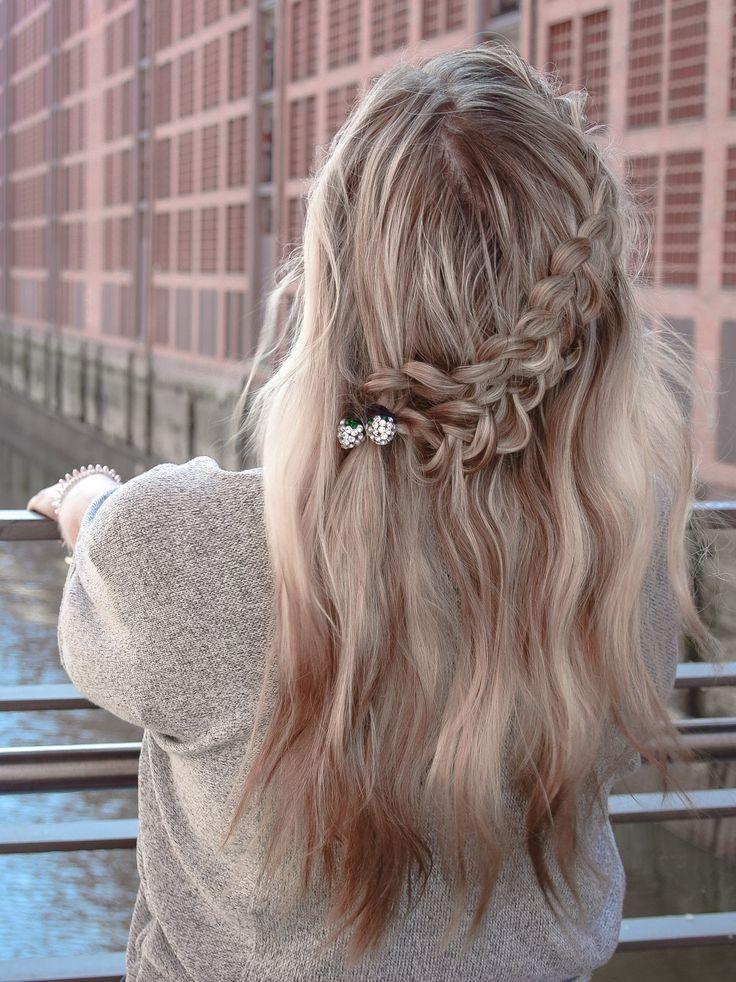 Diagonal Double Braid (Seitenfrisur) – Die 2 in 1 Frisur für Tag und Abend – Frisuren – LIEBLINGE • braids.life