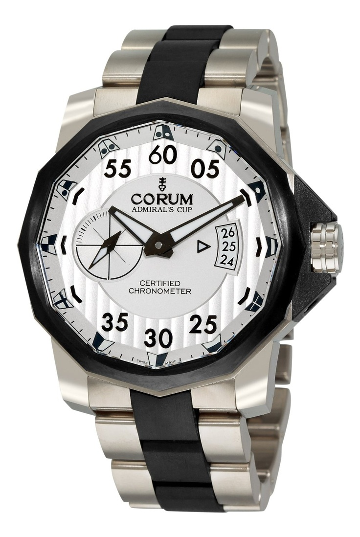 Corum is unique in its imagining of the time piece