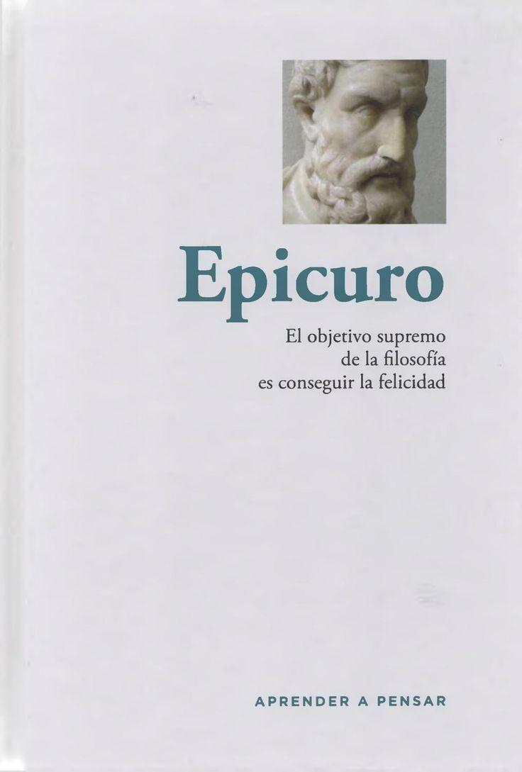 Aprender a pensar 10 epicuro