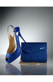 Jimmy Choo available at #Nordstrom  A little Tiger Blue with Bling!!!  This would work at fedex forum