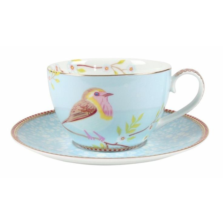 For a wonderful selection of Pip Studio porcelain visit Gifts and Collectables online today - we stock the Blue Early Bird Cup and Saucer