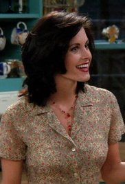 Friends Season 2 Ep 1. Rachel waits for Ross at the airport, unaware he has a new girlfriend. Meanwhile, Chandler has a frightening experience with Joey's tailor, and Phoebe gives Monica a bad haircut.