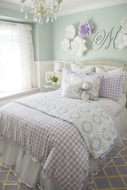 Home By Heidi: Purple U0026 Turquoise Little Girls Room Absolutely Love This! Idea