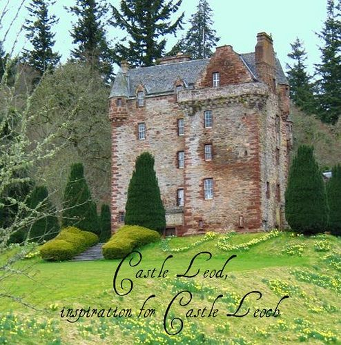 Castle Leod, the inspiration for Castle Leoch in the Outlander series. Photo by Cailiosa, via Flickr -