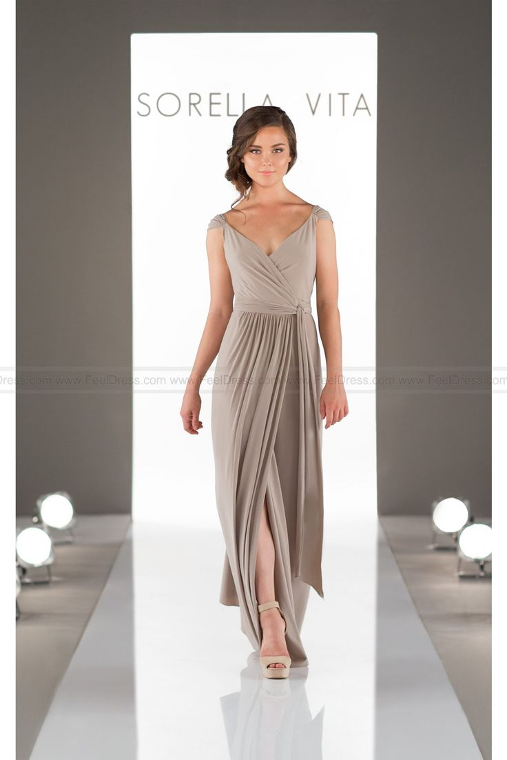 40 best sorella vita images on pinterest bridesmaid dress styles sorella vita wrap bridesmaid dress with cap sleeves style 8874 ombrellifo Images