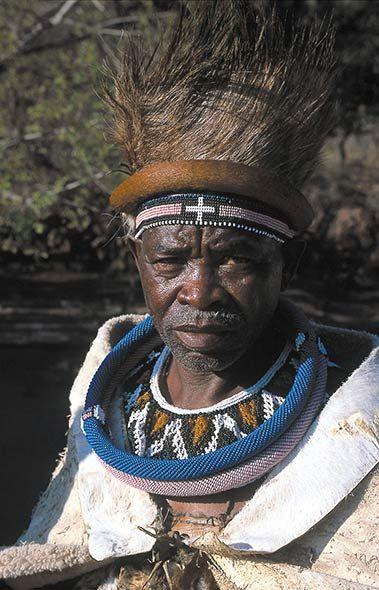Ndebele chief Mabhogo