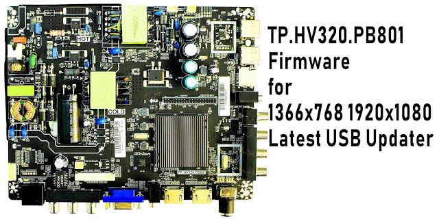 TP HV320 PB801 Firmware file free downloads all USB updater file