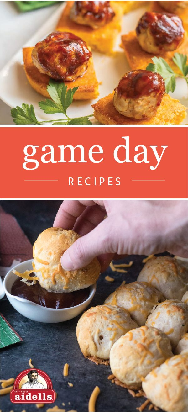 Score big on game day with the help of tasty dishes like Chicken Meatball and Cornbread Appetizers and BBQ Meatball Bomb Bread. Check out this collection of game day recipes to see how you can use Aidells Caramelized Onion Meatballs to complete your party menu. Cheering on your favorite team just got a whole lot more delicious when you find everything you'll need for your homegating celebrating at your local Harris Teeter grocery store.