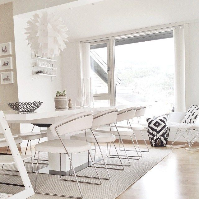 puro estilo nórdico decoración noruega decoración nórdica escandinava decoración muebles de diseño decoración en blanco y madera decoración de salones diáfanos casas nórdicas decoración blog decoracion interiores