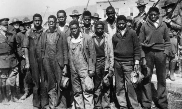 Alabama pardons Scottsboro boys from racially-charged 1930s rape case