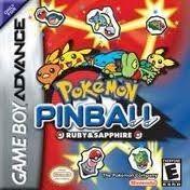 Pokemon Pinball Ruby & Sapphire - Game Boy Advance Game